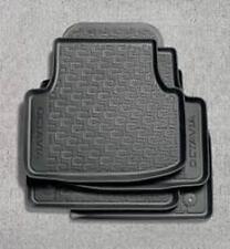 Genuine Skoda Octavia 2013> rubber mat set (front & rear)