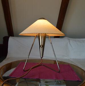 Czech 1950's design table,wall lamp Modernism design by Helena Frantova