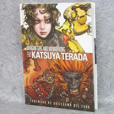 KATSUYA TERADA Art Book DRAGON GIRL AND MONKEY KING Gashu Illustration Japan 94