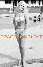 "Linda Vaughn ""Miss Hurst Golden Shifter"" SEXY Bikini ""Poolside"" PHOTO!"