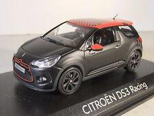 O gauge 1:43 Norev 155274 Citroen DS3 Racing 2012 Loeb Matt Black - Damaged Case