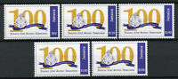 Jamaica 2019 MNH Civil Service Association 100 Years 5v Set Emblems Stamps