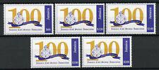 Jamaica 2019 MNH Civil Service Association 100 Years 5v Set Emblems Stamps