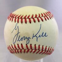 George Kell Signed Autographed American League Baseball PSA DNA #Z70749