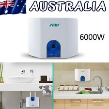 Instant Heating Electric Hot Water Heater Portable Shower Hot Water System 6000W