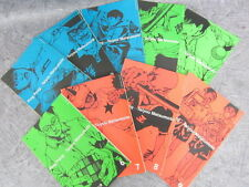 TAIYO MATSUMOTO TAIYOU PING PONG Comic Comp Set 1-9 A+B+C Book SG*