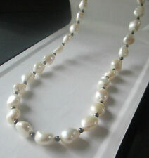 Vintage Baroque Freshwater Pearl Neacklace ~ Cold Water Creek