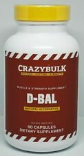 D-bal Muscle & Strength Supplement 90 Capsules Factory