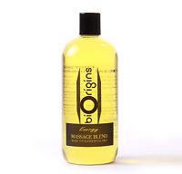 Energy Massage Oil Blend - 1 Litre (MB1KENER)