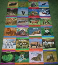 Reader's Digest Young Families ALL ABOUT ANIMALS Series 24 Books Set Home School