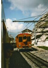 PHOTO  THE 'OLD TIMER' TRADITIONALZUG ON THE DECENT FROM JUNGFRAUJOCH AT EIGERGL