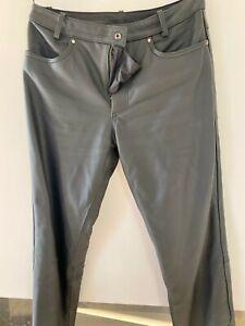 "Pantalon cuir, moto femme , Marque ""BERING "", taille 1"