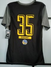 771eaf7eda50 Golden State Warriors Kevin Durant  35 Black Gray NBA T-Shirt Men s Size  Small