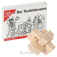 """Mini - Puzzle """"der Teufelsknoten"""" Knobelspiel Geduldsspiel Bartl"""