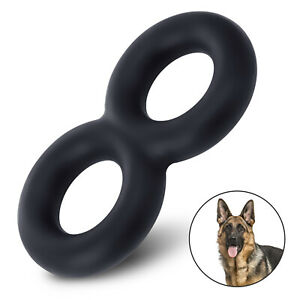 Indestructible Tug Rubber Dog Toy - Unbreakable & Strong Chew