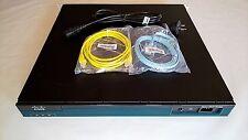 CISCO C2901-CME-SRST/K9 ROUTER UC LICENSE PVDM3-16 ISM-SRE-300-K9 VIC2-4FXO