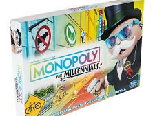 Monopoly for Millennials Milennials Board Game Ages 8+ Brand New Sealed In Hand