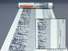 Papel de Pared Pintado 6746-15 Erismann Gráfico Moderno Rayas Gris Blanco 674615