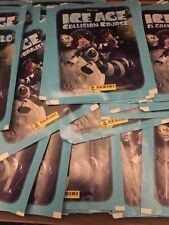 PANINI ICE AGE COLLISION COURSE STICKERS 50 SEALED PACKETS WITH ALBUM