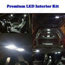 12 x Ultra White SMD LED interior Kit+ License Plate Lights 578 T10 194 175