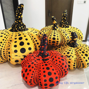 20-50cm Yayoi Kusama Pumpkin Cushion Hallow Pillow Bedroom Sofa Decoration Plush