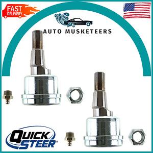 For Dodge Ram 2500 3500 Set of 2 Front Upper Suspension Ball Joints Quicksteer