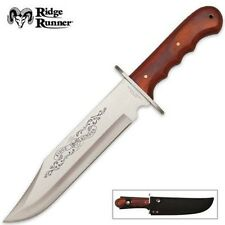 Ridge Runner 20th Anniversary Cowboy Bowie knife with Sheath free shipping USA
