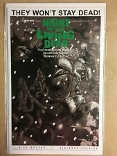 NIGHT OF THE LIVING DEAD #1 HOLIDAY SPECIAL - AVATAR COMICS B/W Horror NM