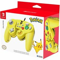 Hori Nintendo Switch Battle Pad Controller for Super Smash Bros Ultimate Pikachu