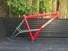 "Vintage MTB 1990 NISHIKI ALIEN ACX 18"" Frame RARE!! Intact Cunningham Mantis"