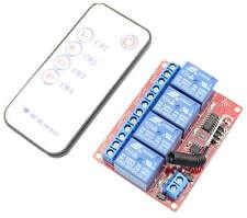 4 Channel DC 5V Relay Remote Control Module Control remote