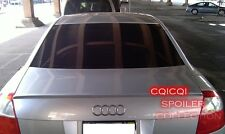 Unpainted Trunk Lip Spoiler For Audi 2001~2005 A4 S4 B6 Sedan ◎
