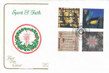 (41462) GB Cotswold FDC Christmas Spirit & Faith Downpatrick 2000