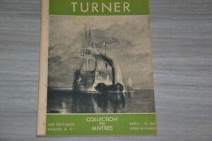 TURNER / COLLECTION DES MAITRES / Ref A50