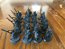 Games Workshop Lord of the Rings Metal Gondorian Spearmen x21 Lot