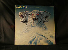 TRILLION - SELF TITLED - EPIC 1978 WHITE LABEL DEMO VG+ VINYL LP RECORD -GE
