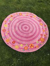 """'HABA'-TEPPICH """"ROSALINA"""" , rund , Durchmesser 120 cm"""