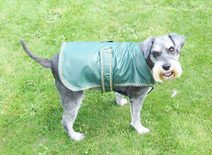 "2XL Dog Coat/Jacket/Raincoat-Waterproof-fully lined-various colours. 24-26"" long"