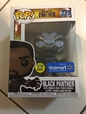 Funko Pop Marvel Black Panther Movie Glow In The Dark Walmart Exclusive #273