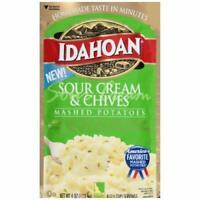 Idahoan, Mashed Potatoes, Sour Cream & Chives
