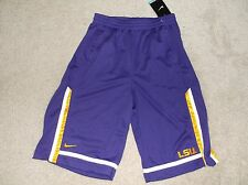 LSU Tigers Nike Dri Fit Shorts Youth XL 18-20 wt Free Ship