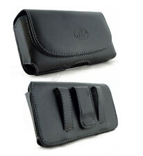 Leather Belt Clip Pouch for Apple iPhone 5 With Hard Cover / Silicone