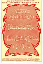 Fleetwood Mac Elvin Bishop Handbill 1973 Contra Costa County Fairgrounds Mint