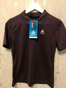 Odlo Polo Shirt Mod. Tilda Neu m. Etikett versch. Grössen Lila Wandern Outdoor