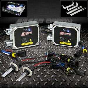 H3 6000K BLUE XENON HID REPLACE FOG LIGHT BULB/BULBS+BALLAST FOR ACURA CHEVY BMW