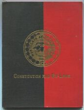 Various / Unknown: Constitution and By-Laws of the Montclair Athletic Club Incor