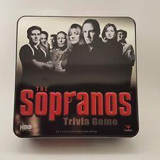 sopranos trivia game collectible tv series mafia gangster