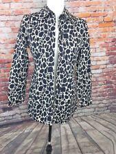 Jones New York Animal Print jacket Size Small