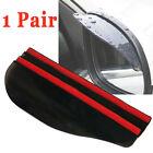 2Pcs Car Guard Sun Visor Rear View Side Mirror Wing Rain Board Eyebrow Shield