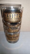 VINTAGE SOUVENIR GLASS FROM KNOTT'S BERRY FARM & GHOST TOWN BUENA PARK CALIF EUC